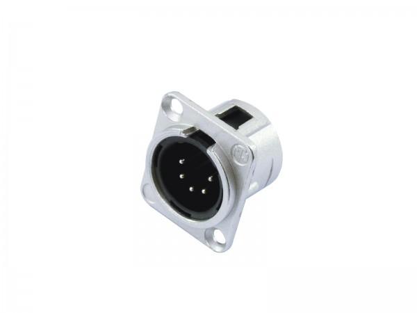 Neutrik XLR-Einbaustecker NC5-MDL-1,5-pol
