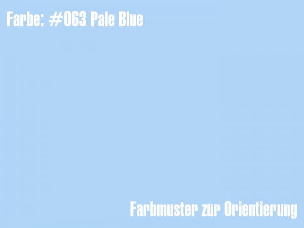 Rosco Farbfolie - Pale Blue #063
