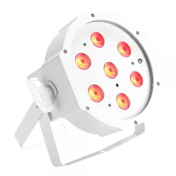 Cameo 7 x 3 W TRI Colour FLAT LED