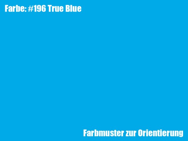 Rosco Farbfolie -True Blue #196