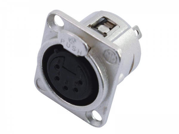Neutrik XLR-Einbaukupplung NC5-FDL-1,5pol