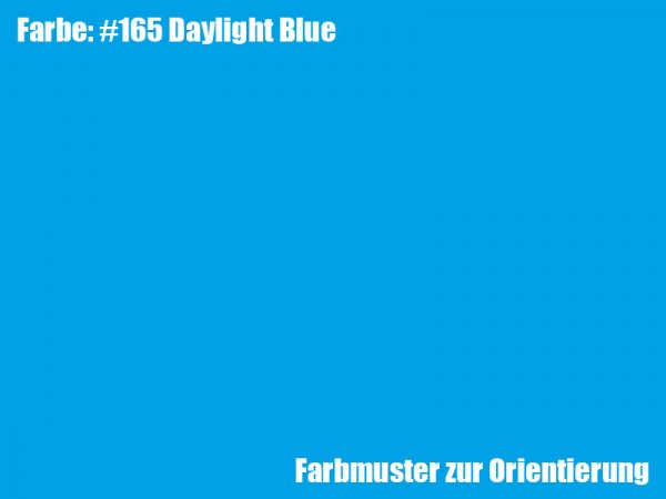 Rosco Farbfolie -Daylight Blue #165