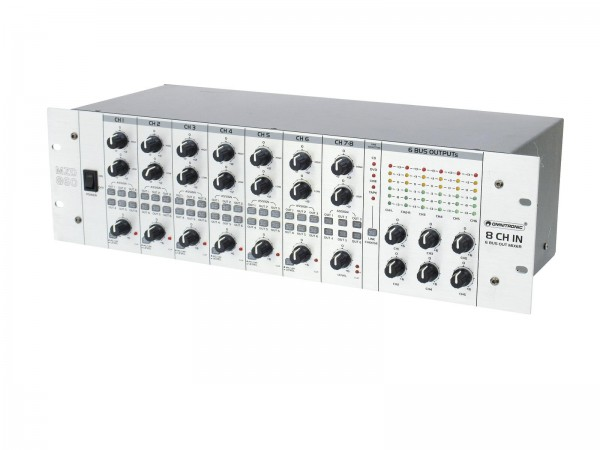Omnitronic MZD-860 Matrix-Zonen-Verteiler