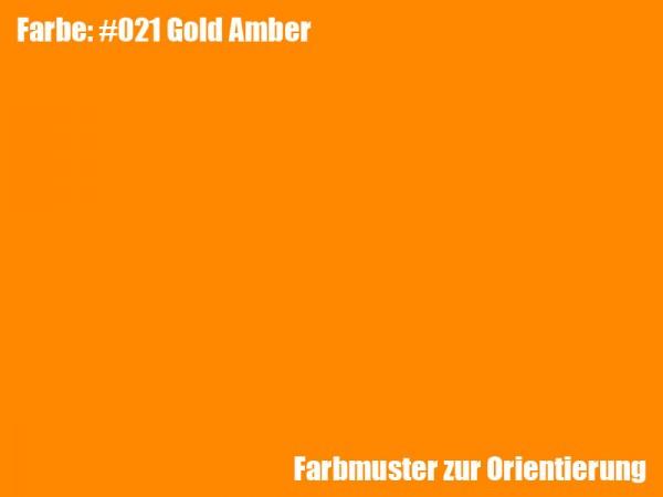 Rosco Farbfolie -Gold Amber #021