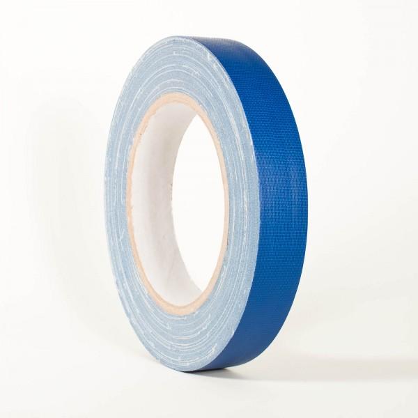 Gewebeband, 19mm x 25m, matt blau