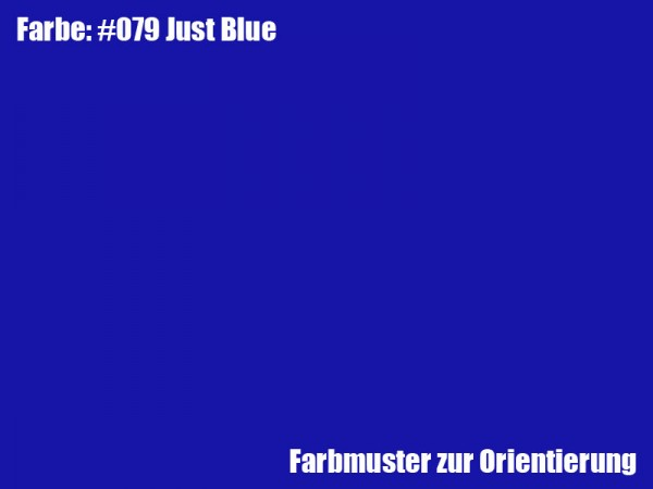 Rosco Farbfolie -Just Blue #079