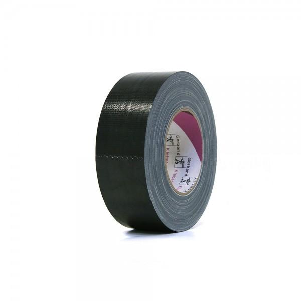 Gerband Gewebe-Klebeband schwarz, glänzend 50mm x 50m