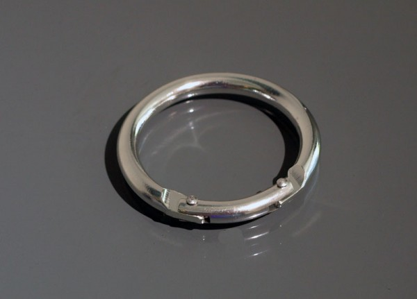 Rundkarabiner Aluminium 50 x 5,5 mm