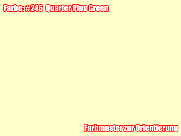 Rosco Farbfolie -Quarter Plus Green #246