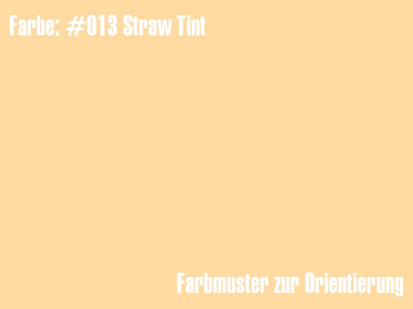 Rosco Farbfolie - Straw Tint #013