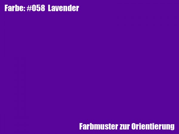 Rosco Farbfolie -Lavender #058