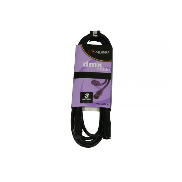 Accu Cable DMX-Kabel AC-DMX5/3m 5pol