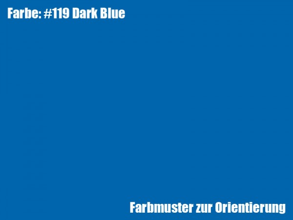Rosco Farbfolie -Dark Blue #119