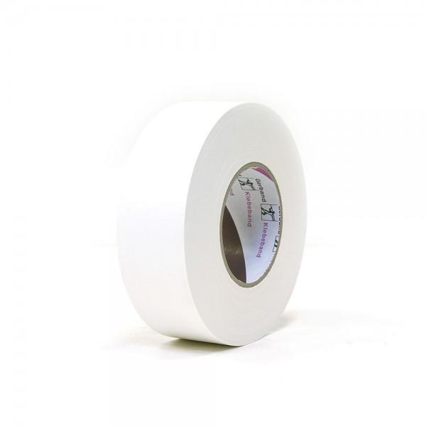 Gerband Gewebe-Klebeband matt weiß 50mm x 50m