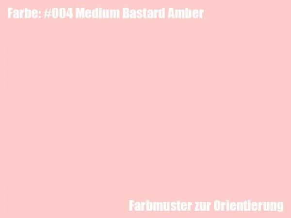 Rosco Farbfolie -Medium Bastard Amber #004