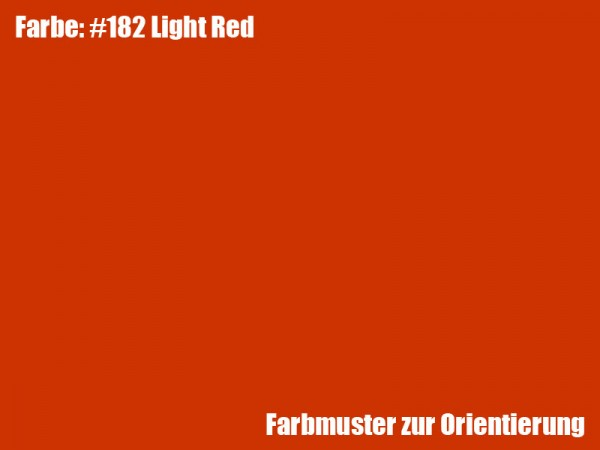 Rosco Farbfolie -Light Red #182