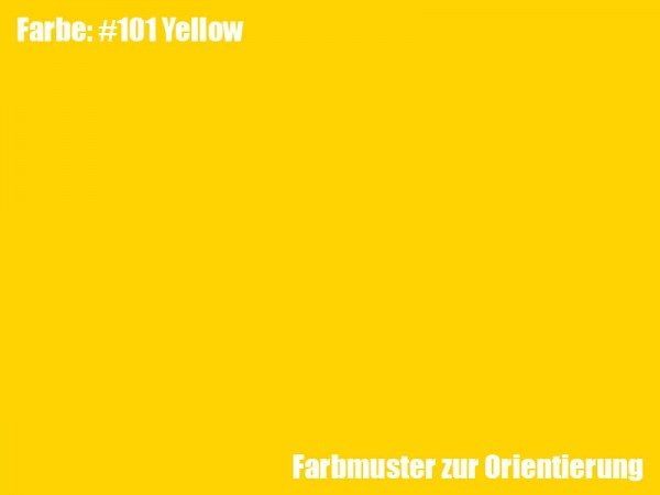 Rosco Farbfolie -Yellow #101