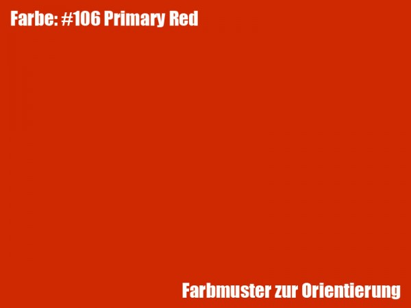 Rosco Farbfolie -Primary Red #106