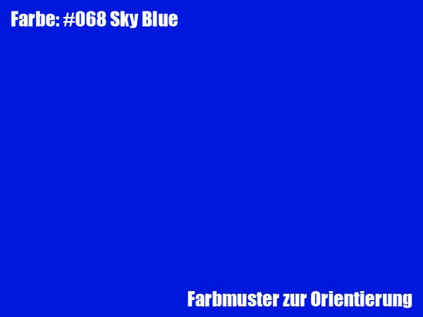 Rosco Farbfolie -Sky Blue #068