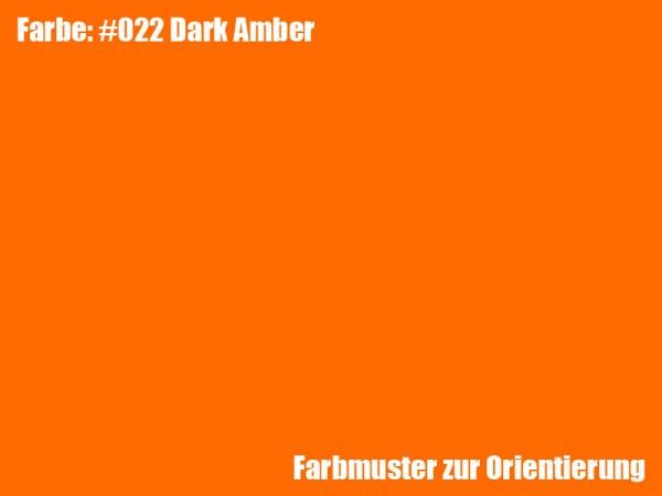 Rosco Farbfolie -Dark Amber #022
