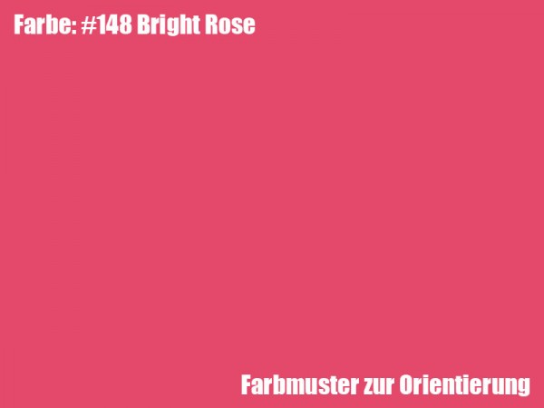 Rosco Farbfolie -Bright Rose #148