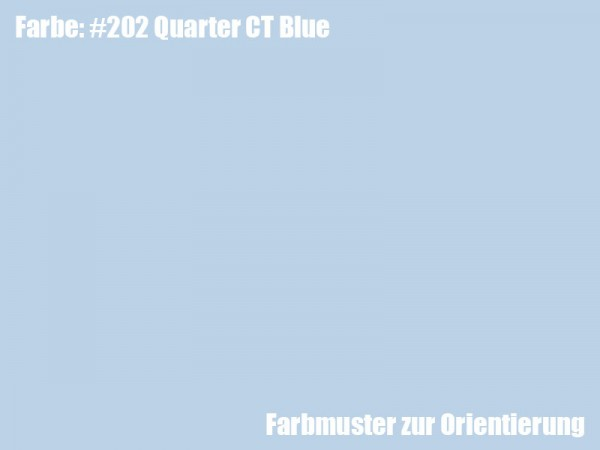 Rosco Farbfolie -Quarter CT Blue #203