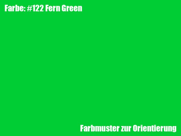Rosco Farbfolie -Fern Green #122