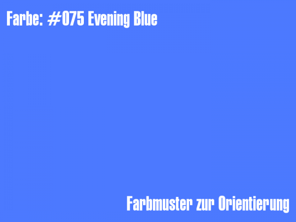 Rosco Farbfolie - Evening Blue #075