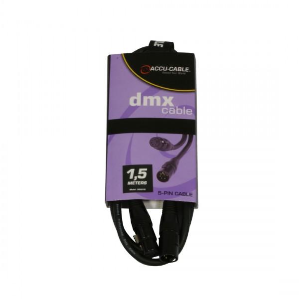 DMX-Kabel AC-DMX5/1,5m 5pol