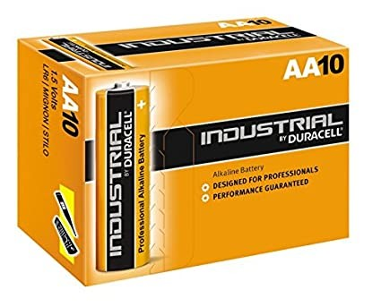 Batterie Duracell Industrial AA Mignon 10 St.