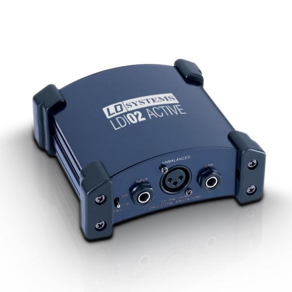 LD Systems LDI 02 - DI Box aktiv