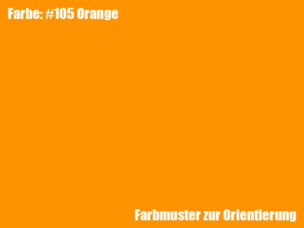 Rosco Farbfolie -Orange #105