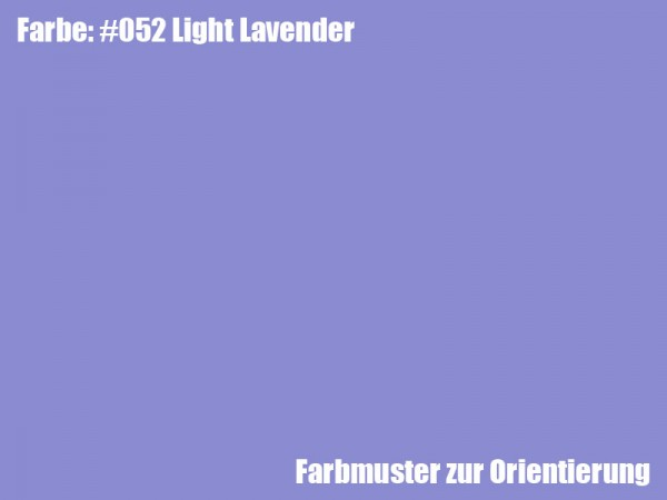Rosco Farbfolie -Light Lavender #052