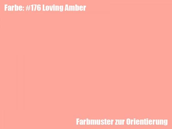 Rosco Farbfolie -Loving Amber #176