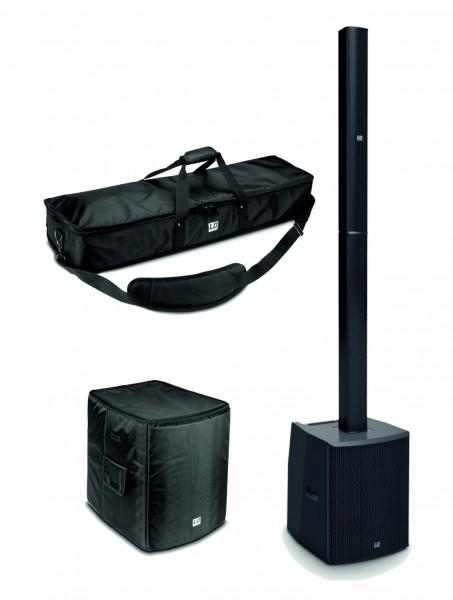 LD Systems MAUI 28 G2 Säulen PA System Bundle aktiv schwarz