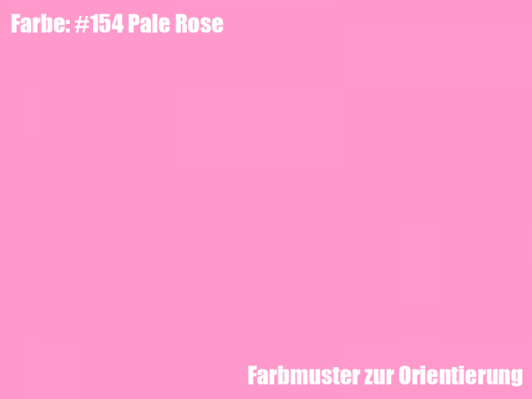 Rosco Farbfolie -Pale Rose #154