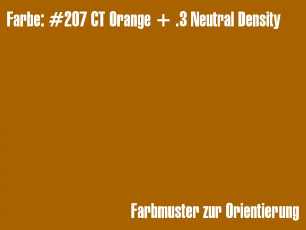 Rosco Farbfolie - CT Orange + .3 Neutral Density #207