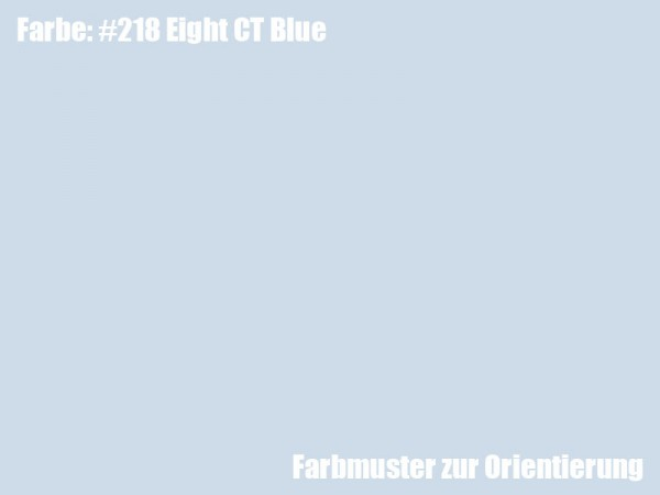 Rosco Farbfolie -Eight CT Blue #218