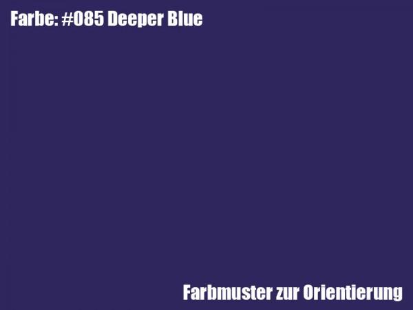 Rosco Farbfolie -Deeper Blue #085