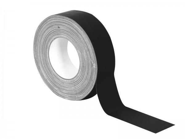 Gewebe-Klebeband schwarz, matt 50mm x 50m