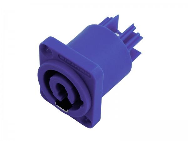 Neutrik PowerCon Einbaukupplung blau