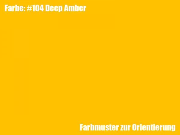 Rosco Farbfolie -Deep Amber #104