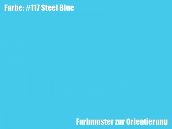 Rosco Farbfolie -Steel Blue #117