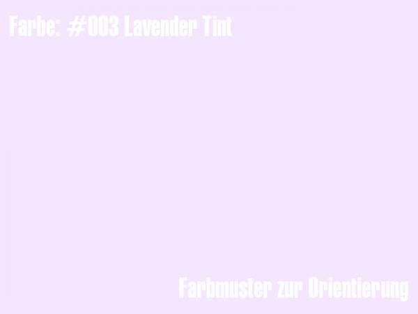 Rosco Farbfolie - Lavender Tint #003