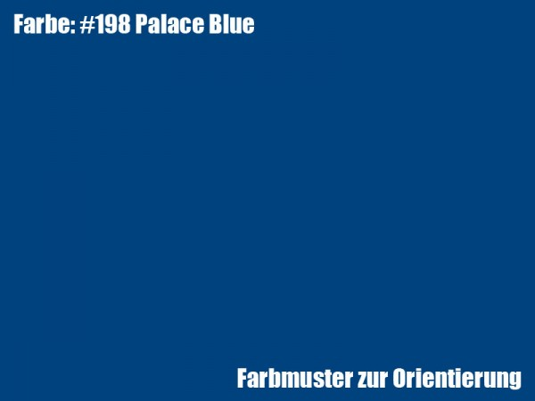 Rosco Farbfolie -Palace Blue #198