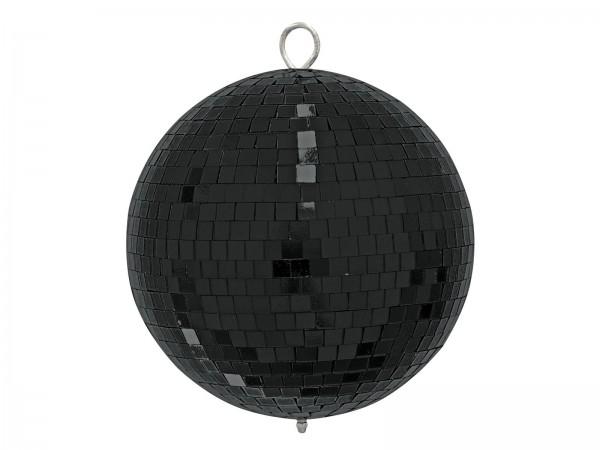 Spiegelkugel 20cm schwarz