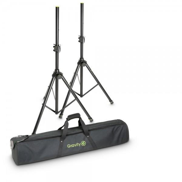 Gravity SS 5211 B SET 1 Boxenständer 2er Set mit Tasche