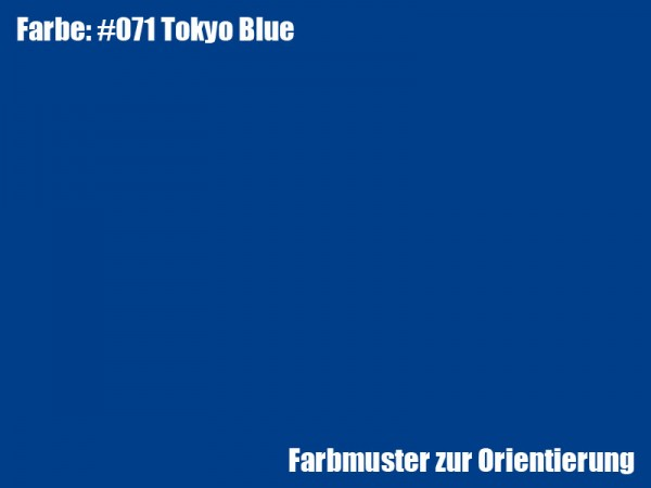 Rosco Farbfolie -Tokyo Blue #071