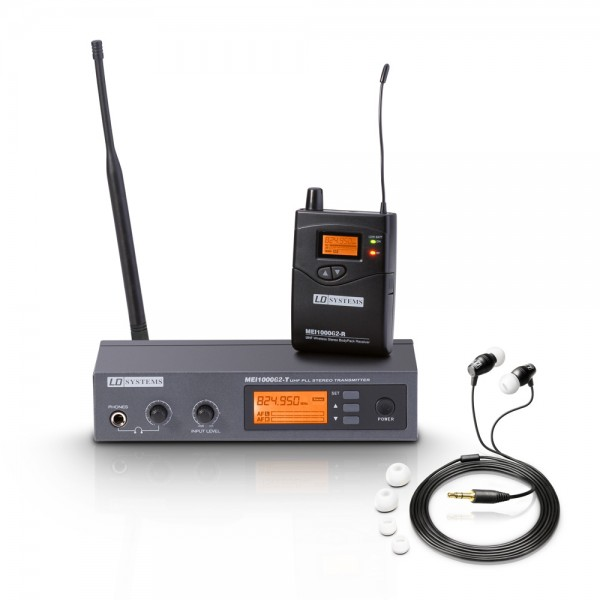 LD Systems MEI 1000 G2 - In-Ear Monitoring System drahtlos
