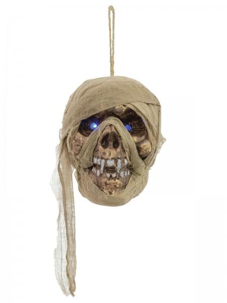 Halloween Mumienschädel